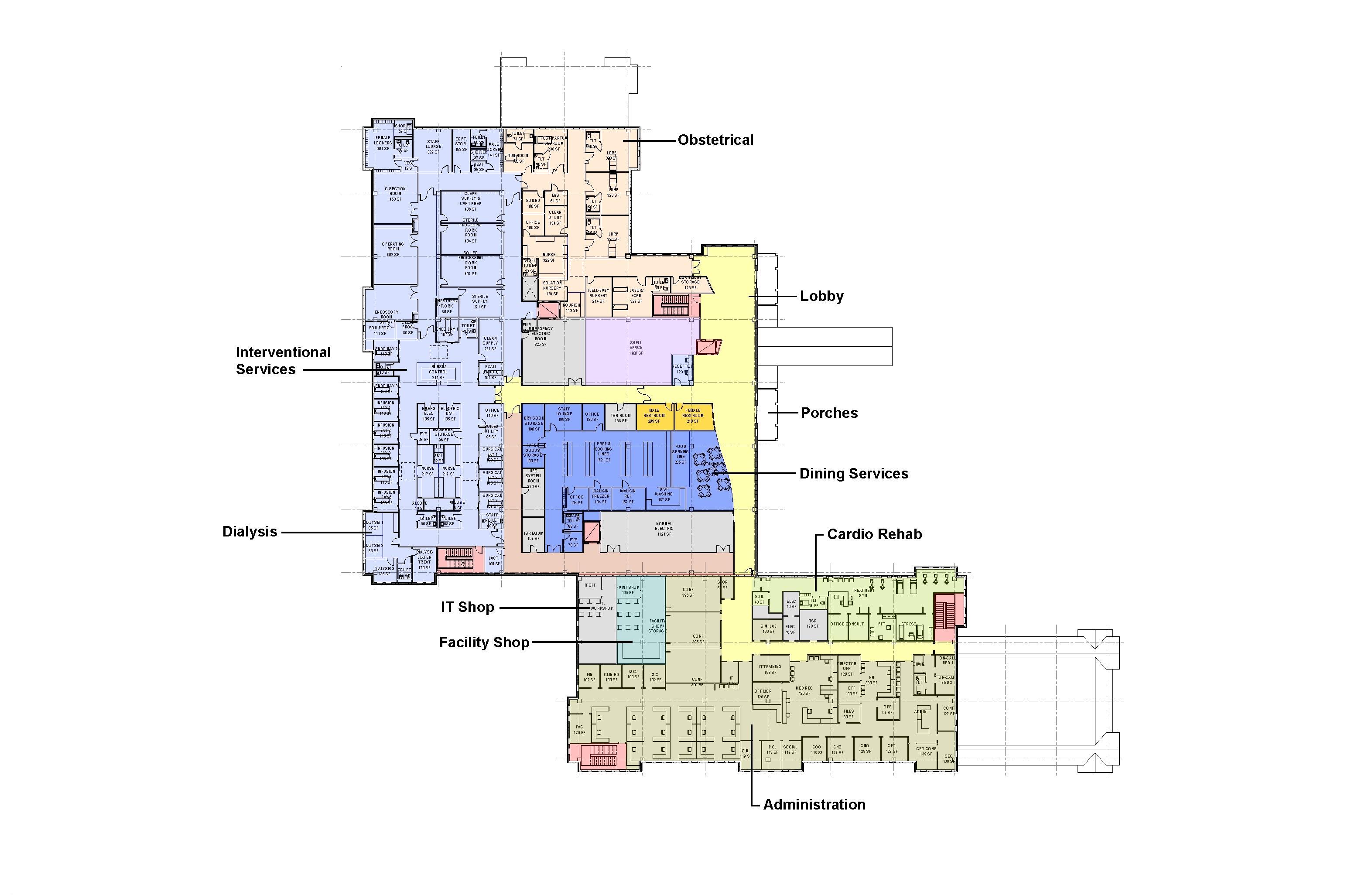 Floor Plans Nantucket Cottage Hospital