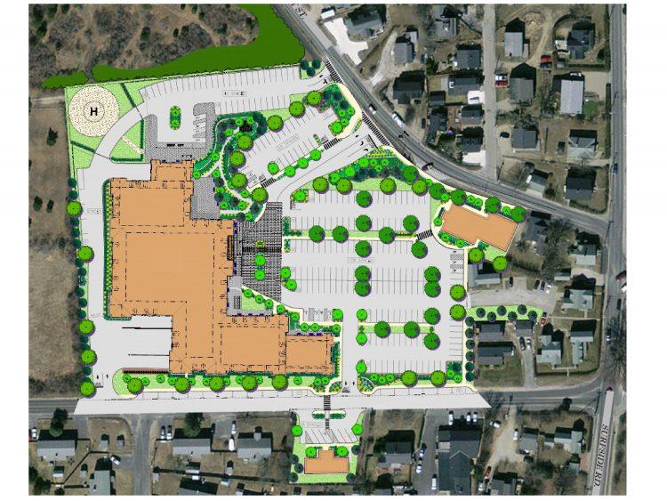 Site Plan: 57 Prospect Street